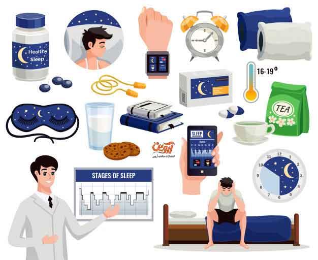 20 روش برای درمان بی خوابی